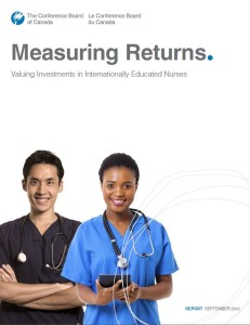 Measuring Returns. Valuing investments in Internationally Educated Nurses