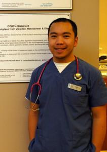 Kenneth on the job in Oshawa