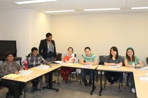 An Employment Strategies workshop in Toronto